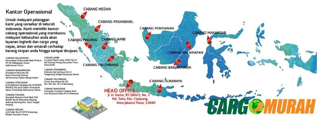 Jasa Pengiriman Cargo Murah di Jakarta Timur