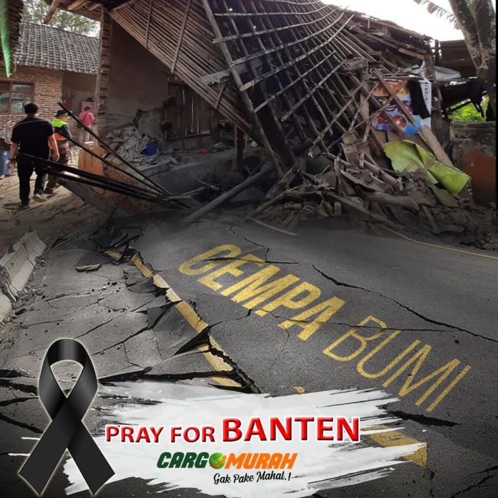 Gempa Banten Kemensos Siap Didistribusikan Bantuan Logistik