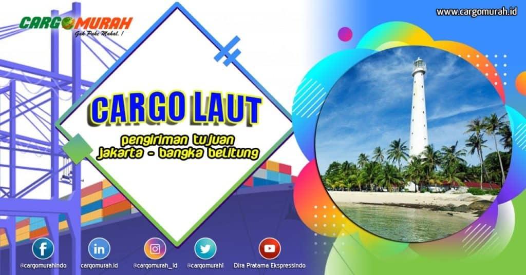 Cargo Laut Jakarta Bangka Belitung