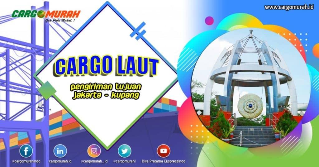 Cargo Laut Jakarta Kupang