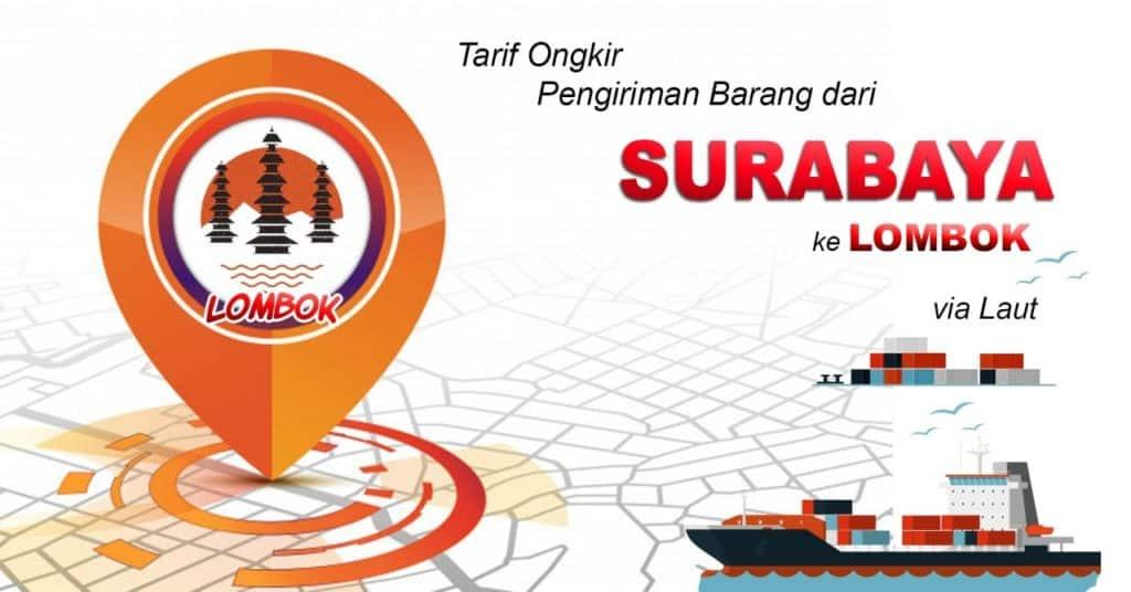 tarif ekspedisi murah surabaya ke lombok