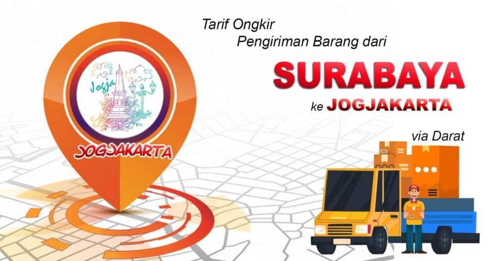 tarif ekspedisi murah surabaya ke yogyakarta