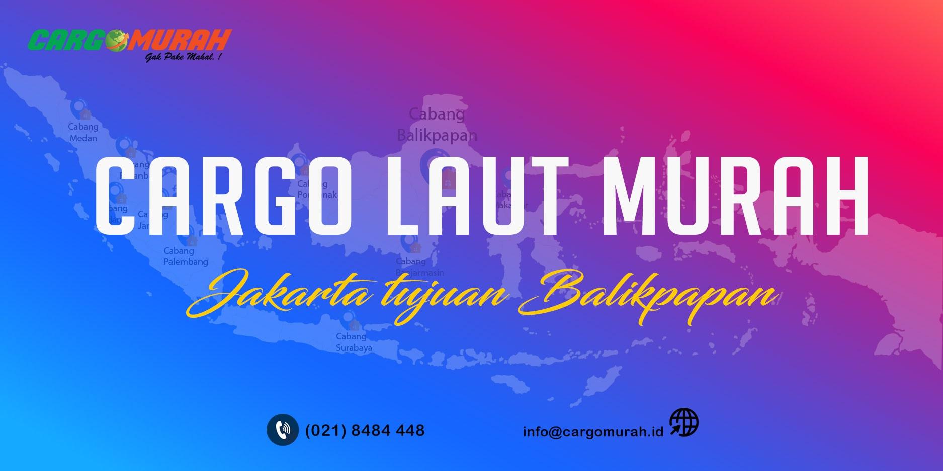 Cargo Jakarta ke Balikpapan