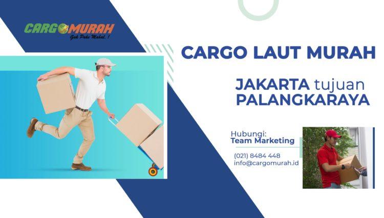 Jasa Pengiriman Cargo Murah Jakarta ke Palangkaraya
