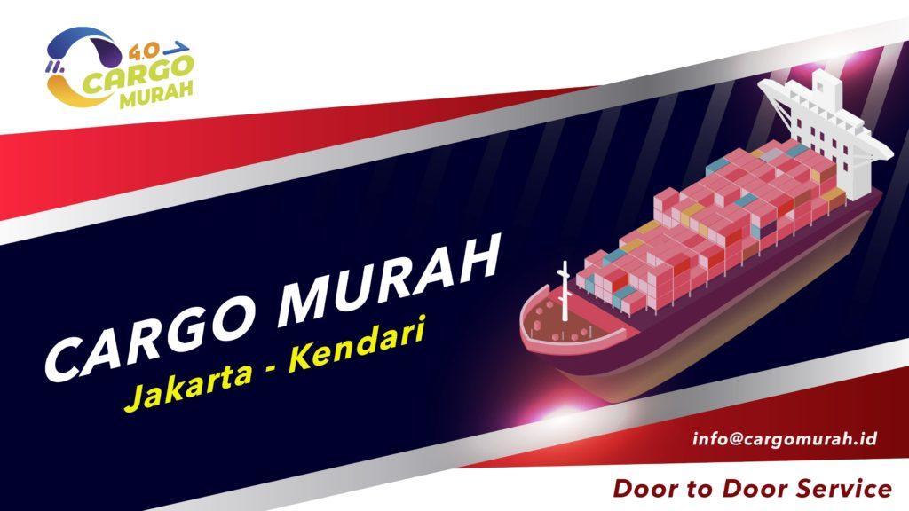 Jasa Ekspedisi Via Cargo Laut Jakarta Kendari