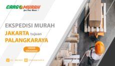 Jasa Pengiriman Barang Cargo Murah Jakarta ke Palangkaraya