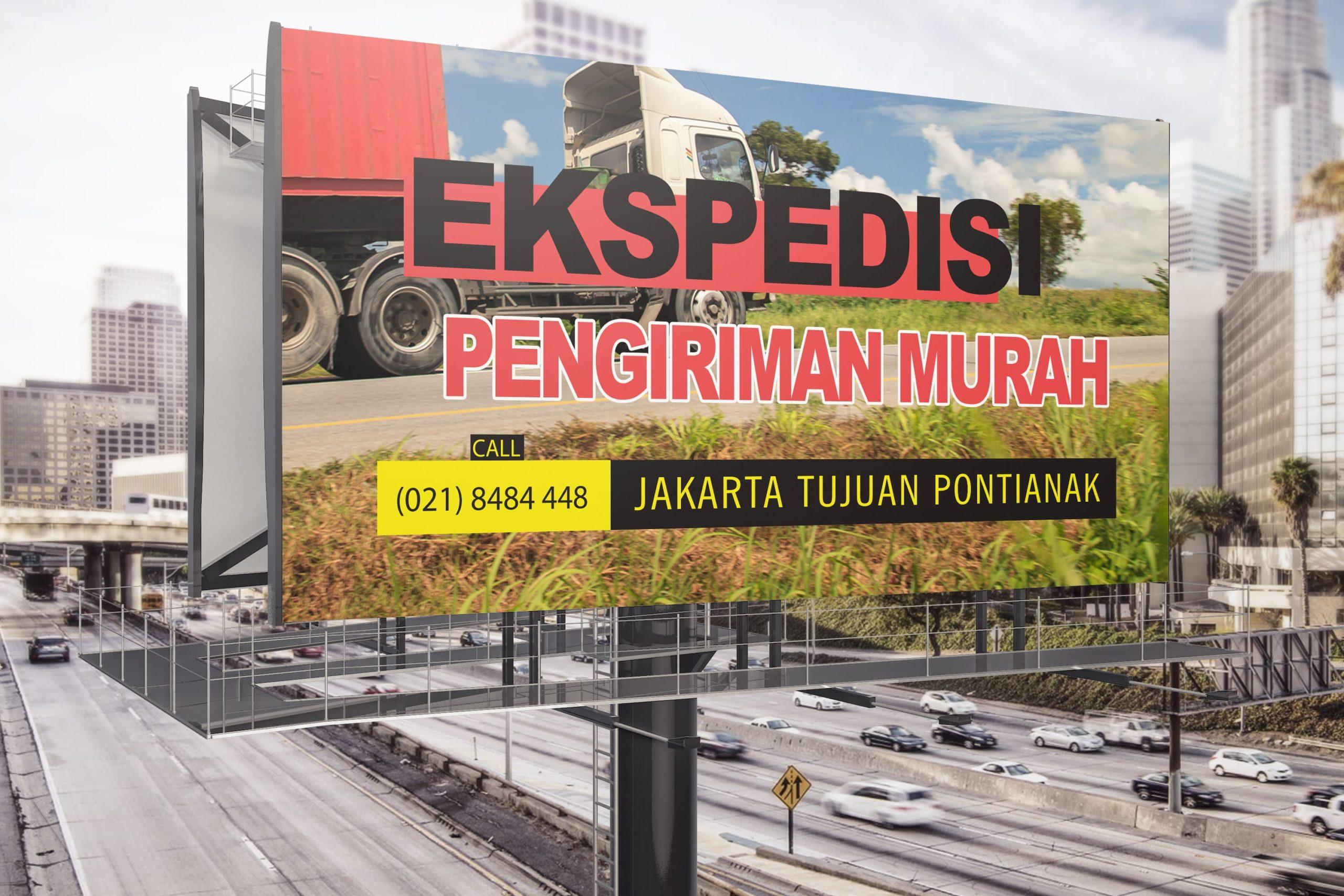 Jasa Pengiriman Barang Cargo Murah Jakarta ke Pontianak Kalimantan Barat