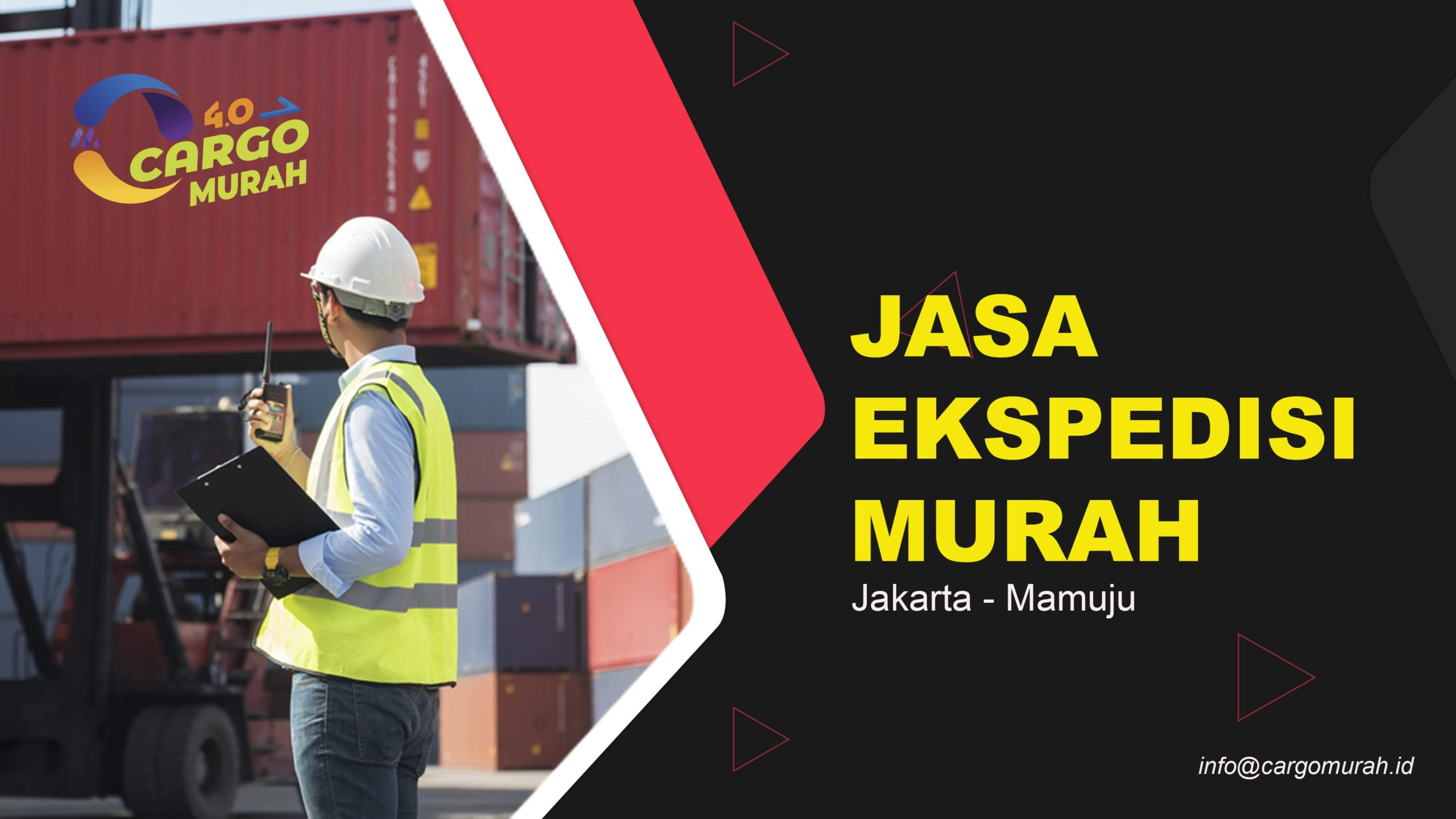 EkspedisiCargo Laut Jakarta Mamuju
