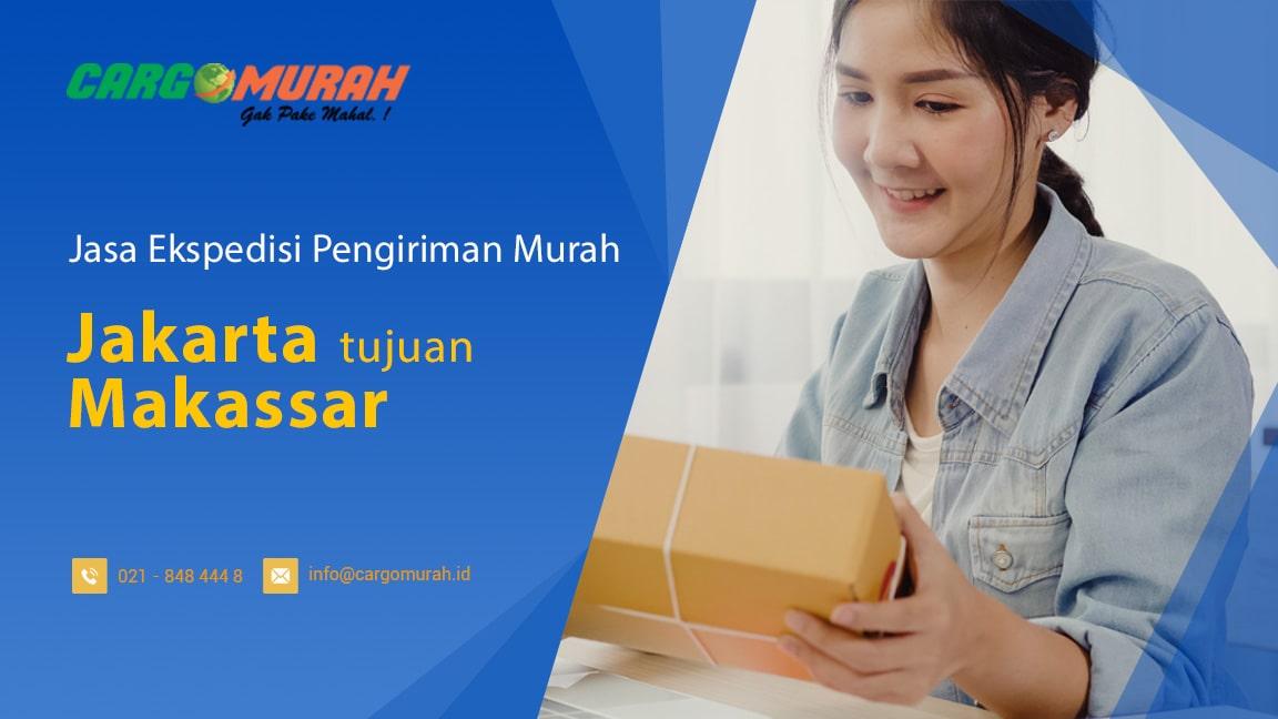 Jasa Cargo Murah Jakarta ke Makassar