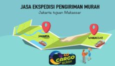 Jasa Ekspedisi Murah Jakarta ke Makassar Sulawesi Selatan