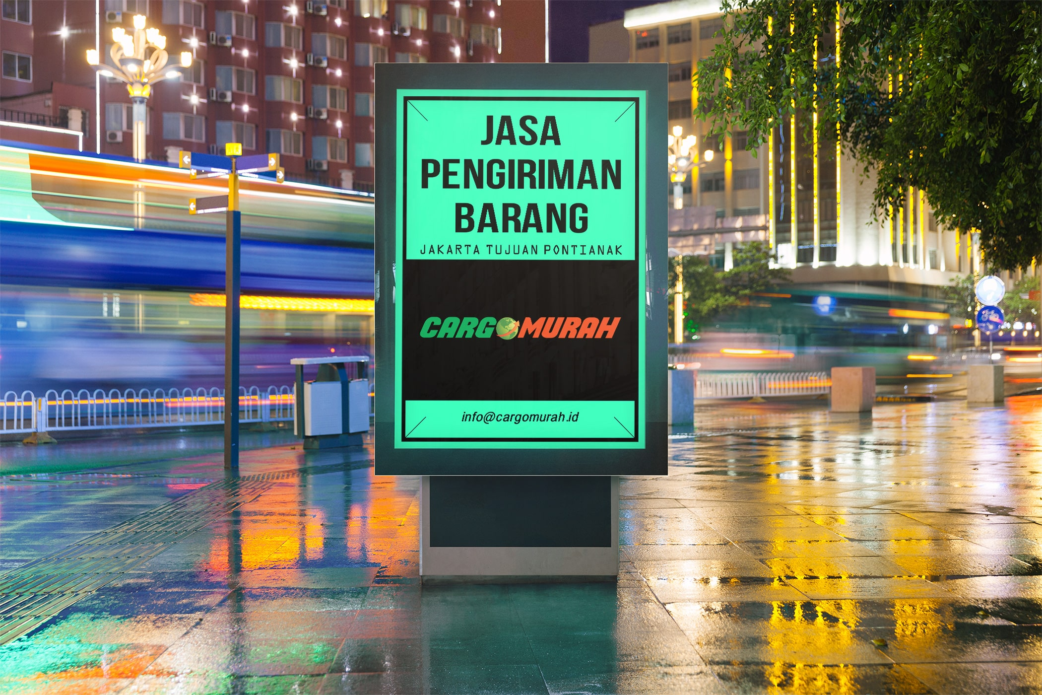 Jasa Kargo Jakarta ke Pontianak Kalimantan Barat
