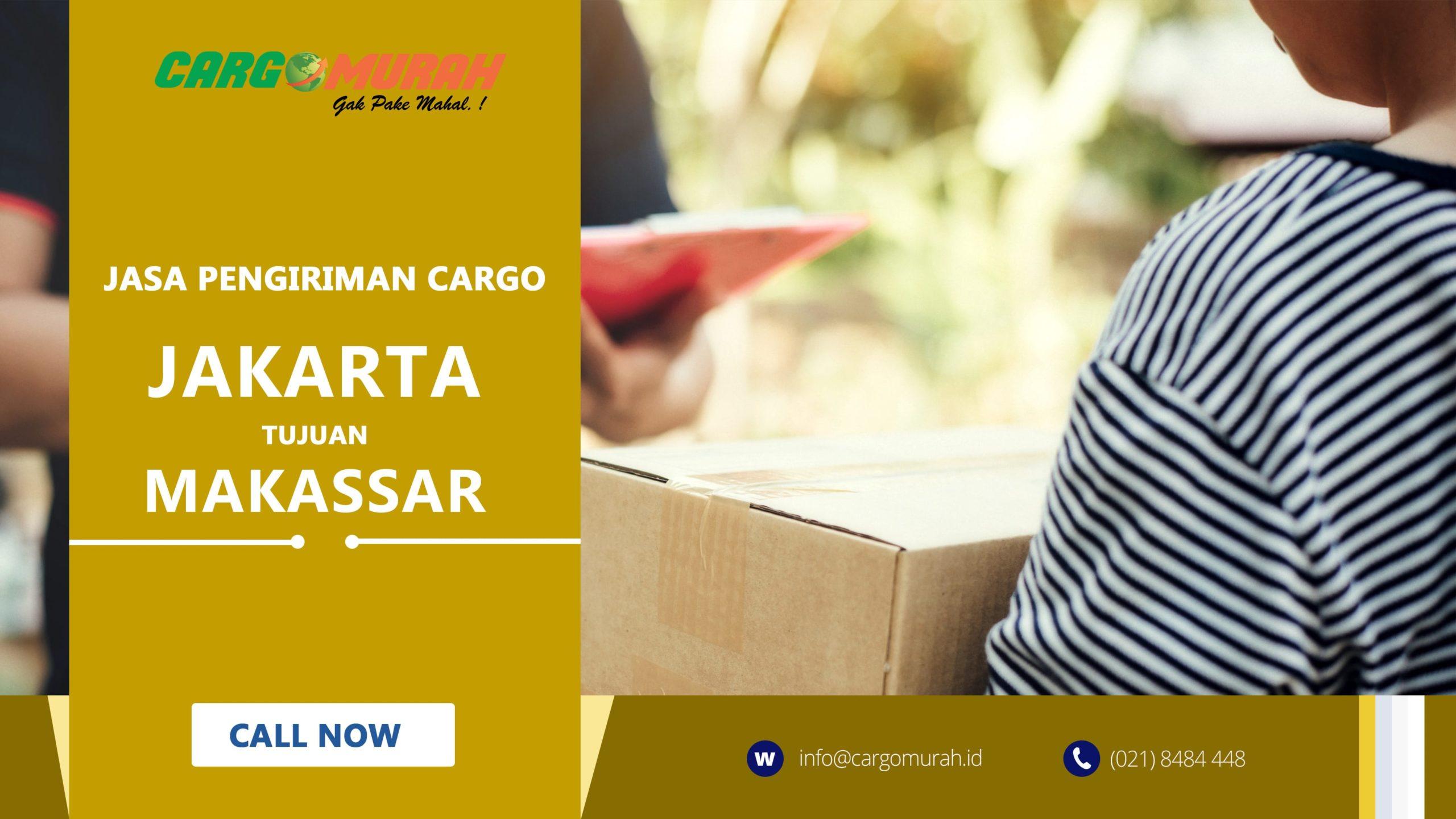 Jasa Ekspedisi Murah Jakarta ke Makassar
