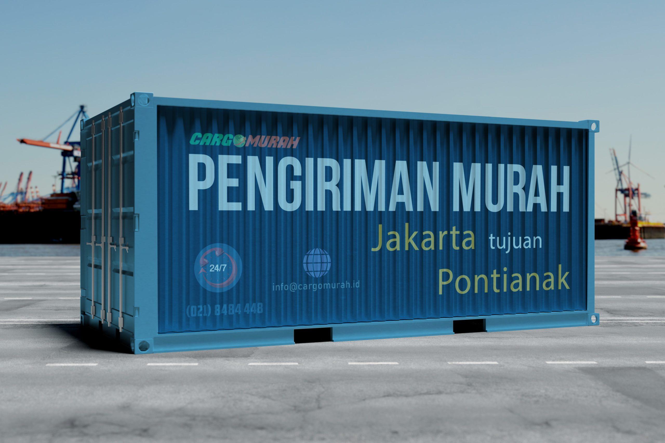 Ekspedisi Murah Jakarta ke Pontianak Kalimantan Barat