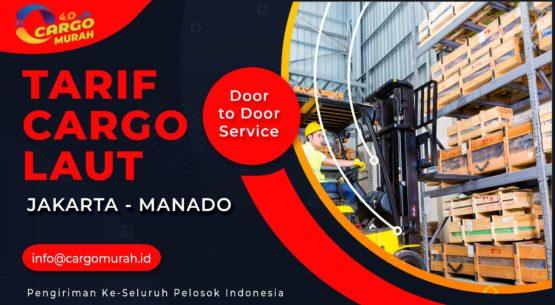 Cargo Murah Jakarta ke Manado Sulawesi Utara
