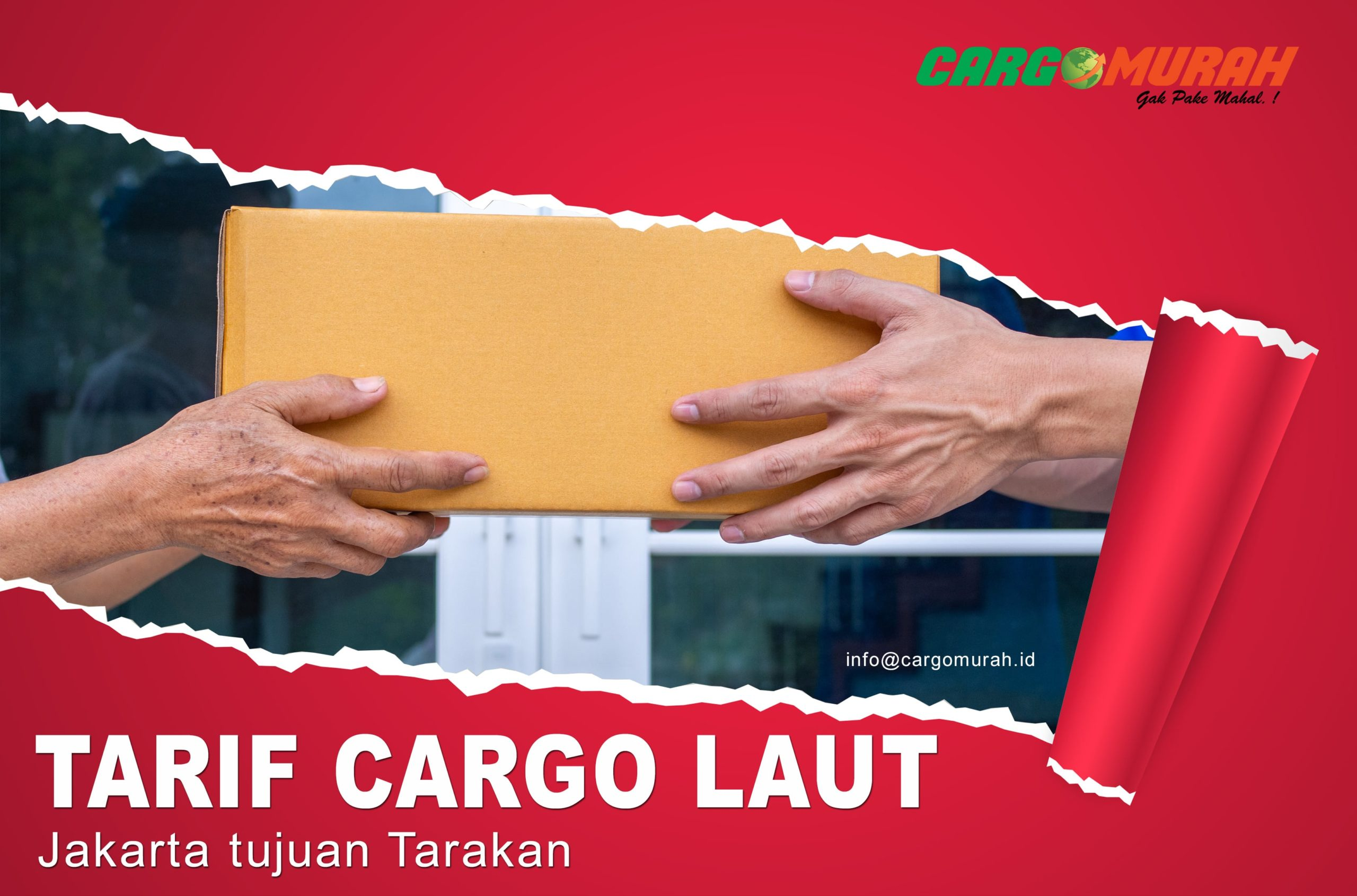 Cargo Jakarta ke Tarakan
