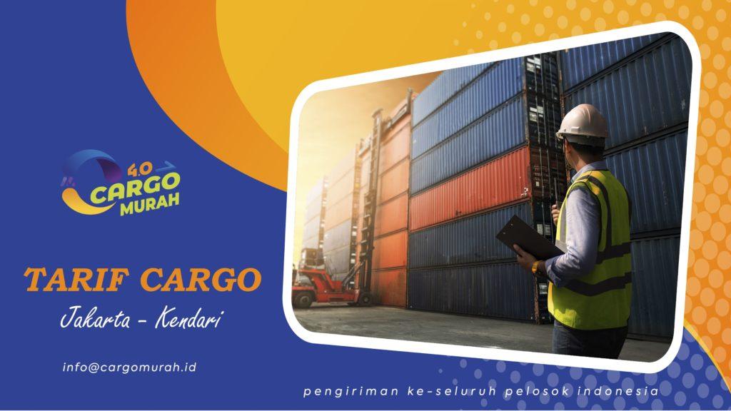 Ekspedisi Murah Cargo Laut Jakarta Kendari