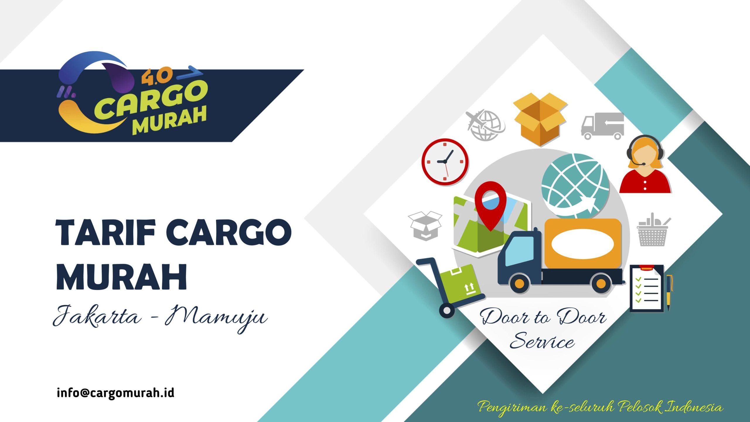 Jasa Ekspedisi Cargo Laut Jakarta Mamuju