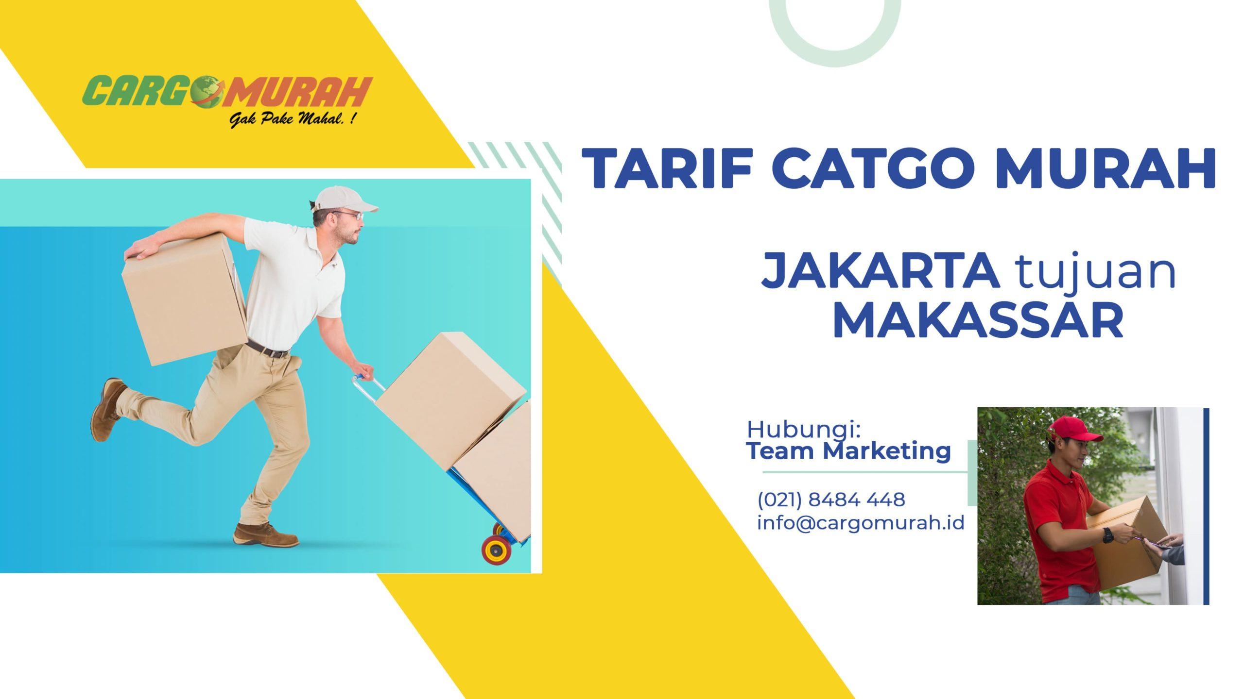 Jasa Cargo Murah Jakarta ke Makassar Sulawesi Selatan