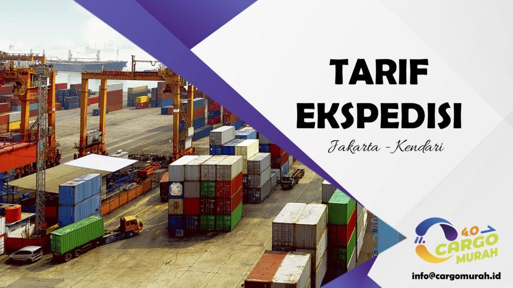 Jasa Cargo Laut Jakarta Kendari