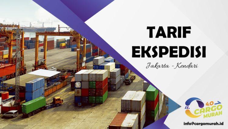 Ekspedisi Via Cargo Laut Jakarta Kendari Sulawesi Tenggara