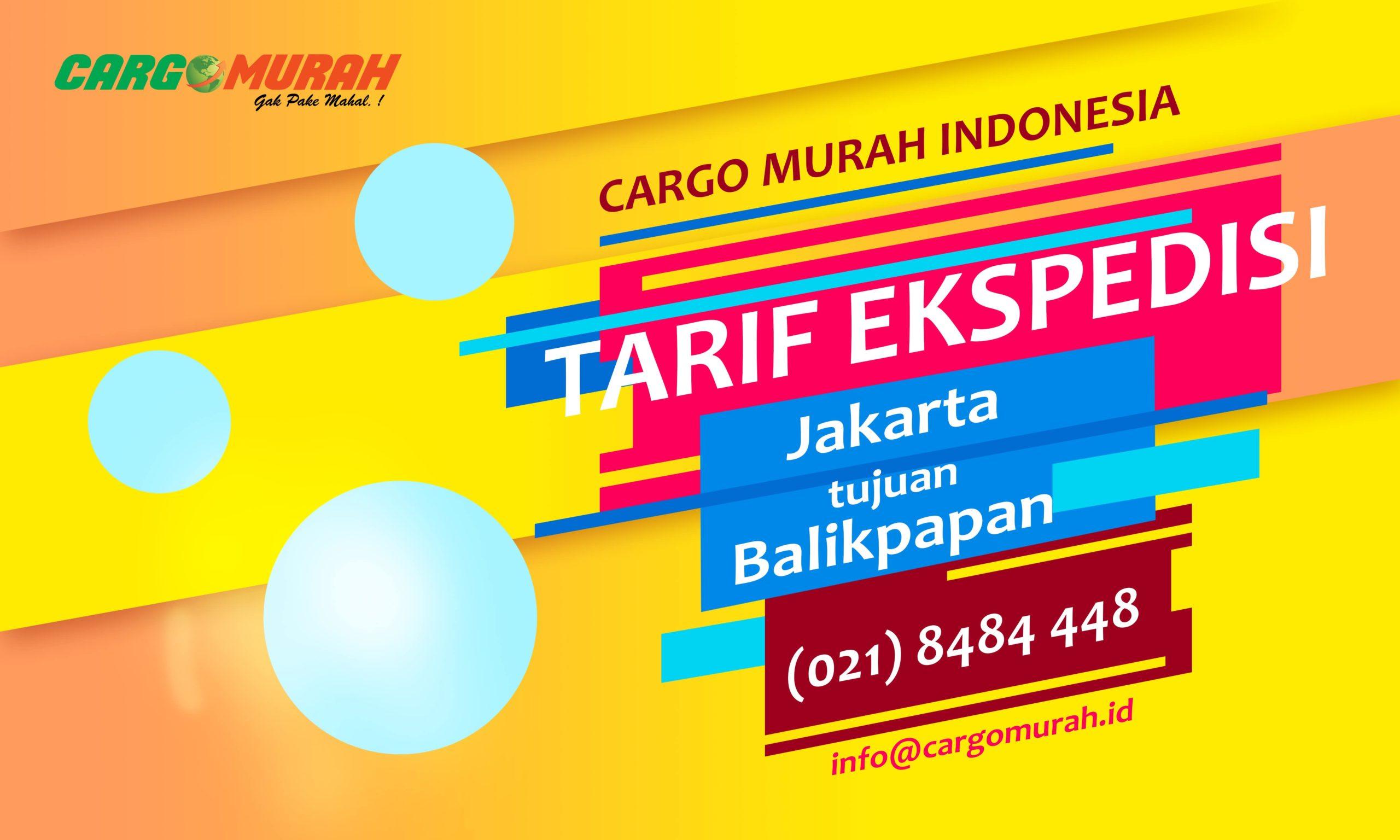 Jasa Kargo Jakarta ke Balikpapan