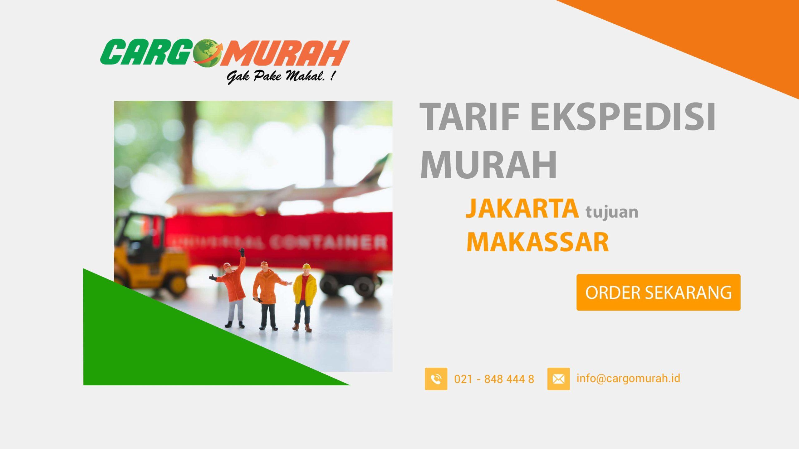 Ekspedisi Jakarta ke Makassar Sulawesi Selatan