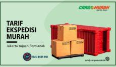 Cargo Murah Jakarta ke Pontianak Kalimantan Barat