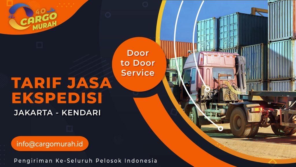Jasa Ekspedisi Jakarta Kendari