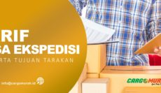 Jasa Pengiriman Barang Cargo Murah Jakarta ke Tarakan Kalimantan Utara