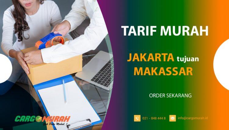 Jasa Ekspedisi Pengiriman Cargo Murah Jakarta ke Makassar Sulawesi Selatan