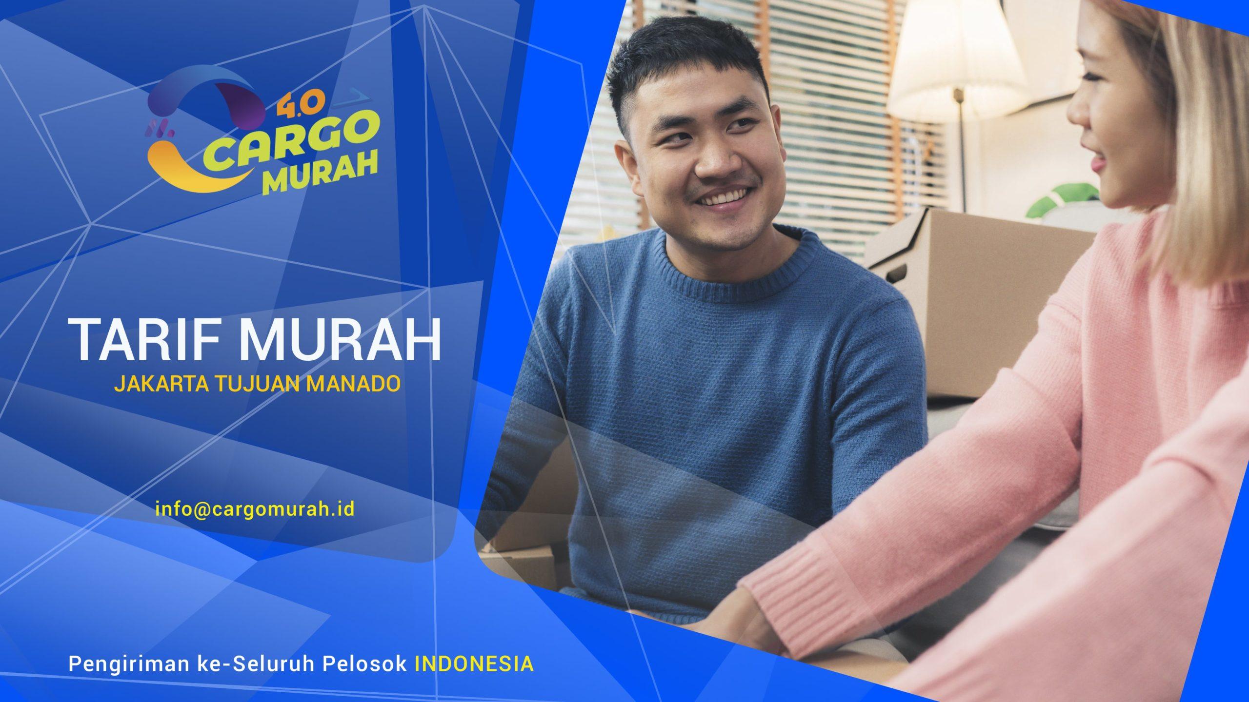 Jasa Pengiriman Jakarta ke Manado Sulawesi Utara