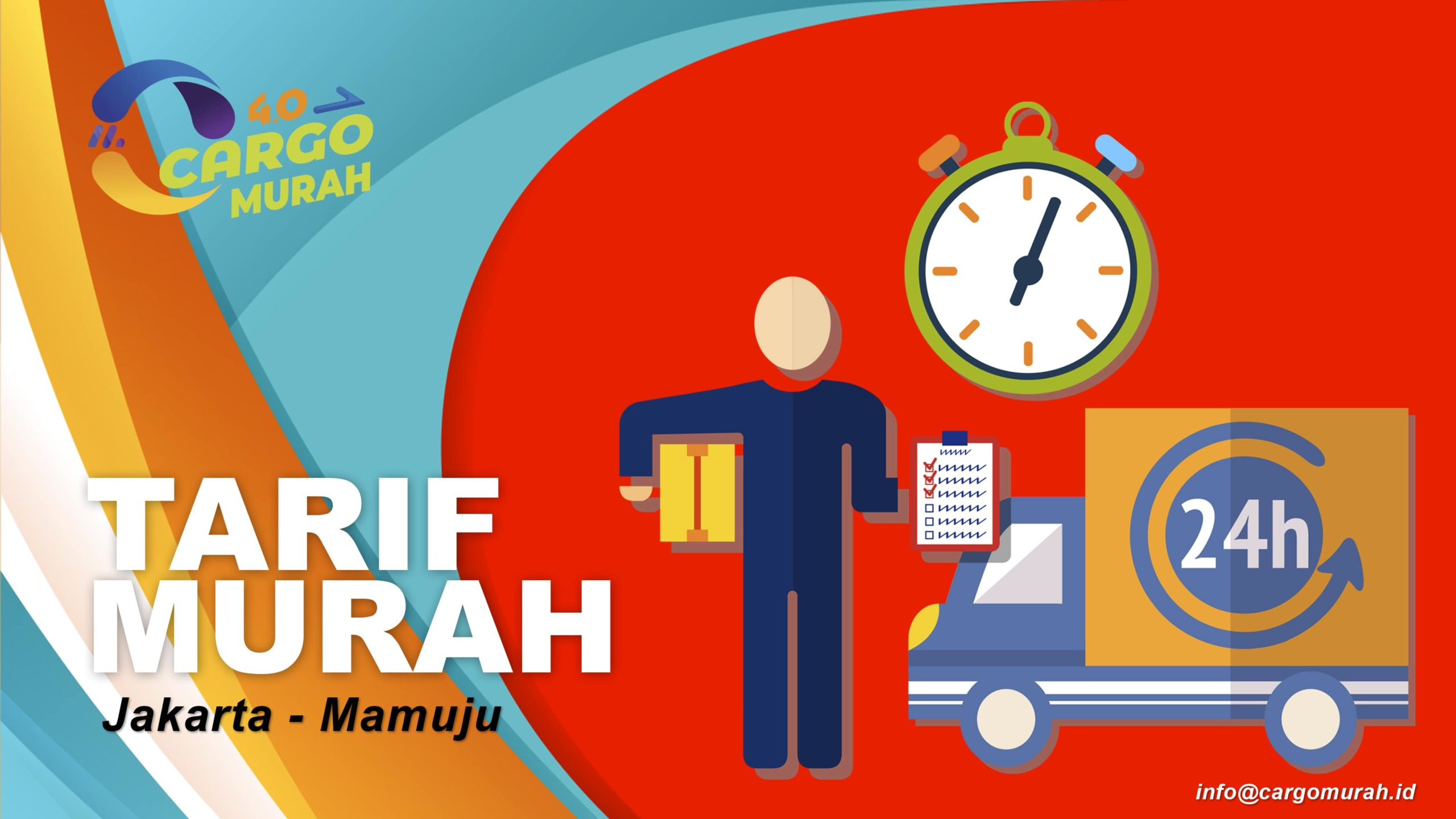 Jasa Cargo Murah Jakarta Mamuju