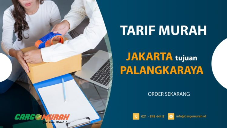 Jasa Ekspedisi Jakarta ke Palangkaraya