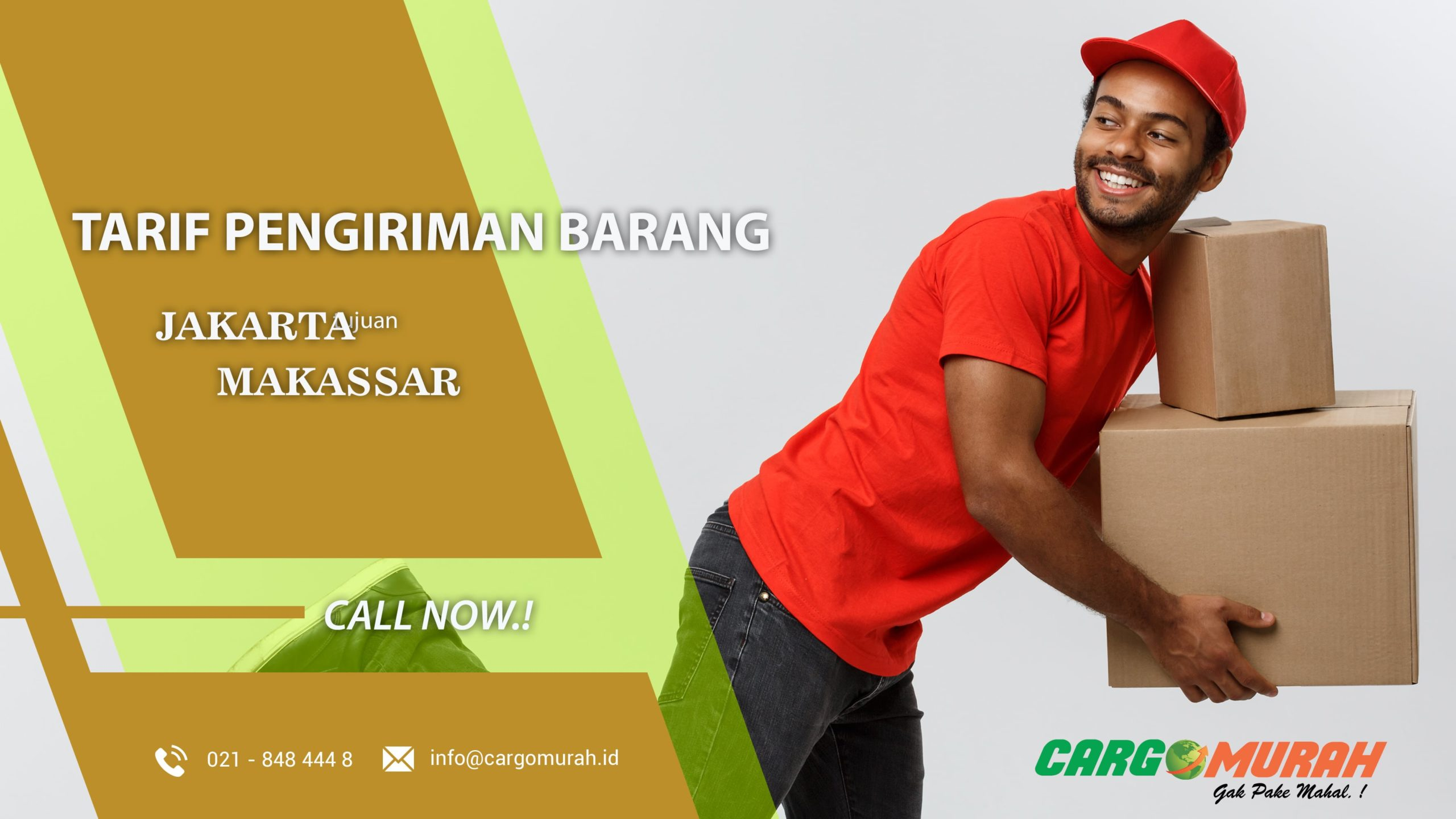 Jasa Pengiriman Murah Jakarta ke Makassar