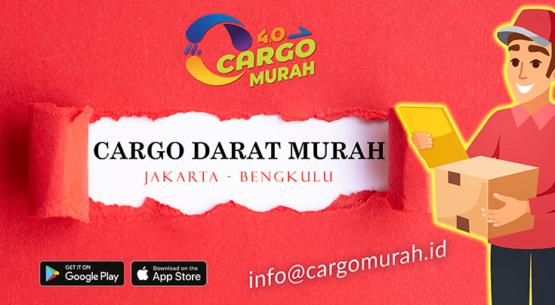 Jasa Pengiriman Barang Cargo Murah Jakarta Bengkulu