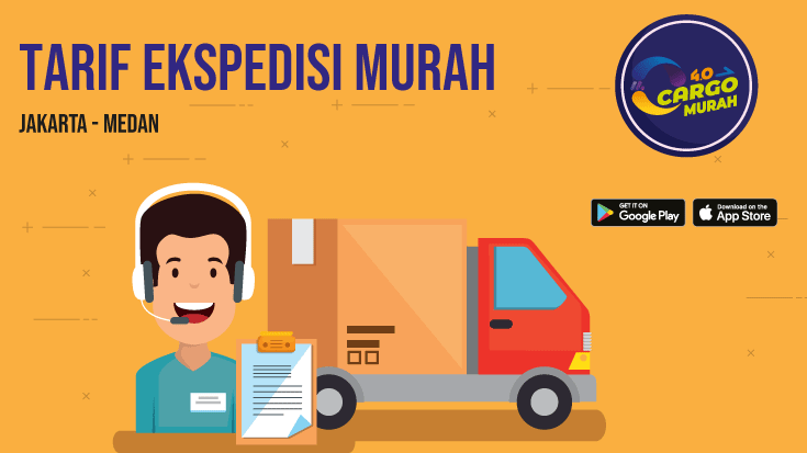 Jasa Cargo Via Darat Jakarta Medan