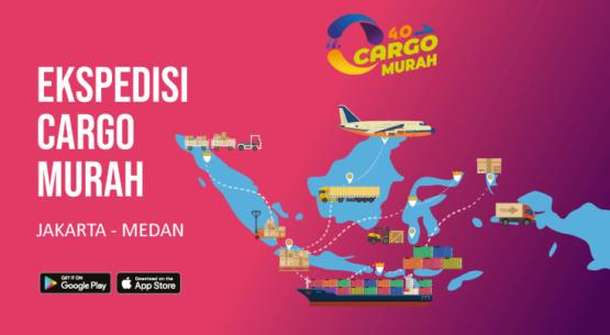 Jasa Ekspedisi Pengiriman Cargo Murah Jakarta Medan