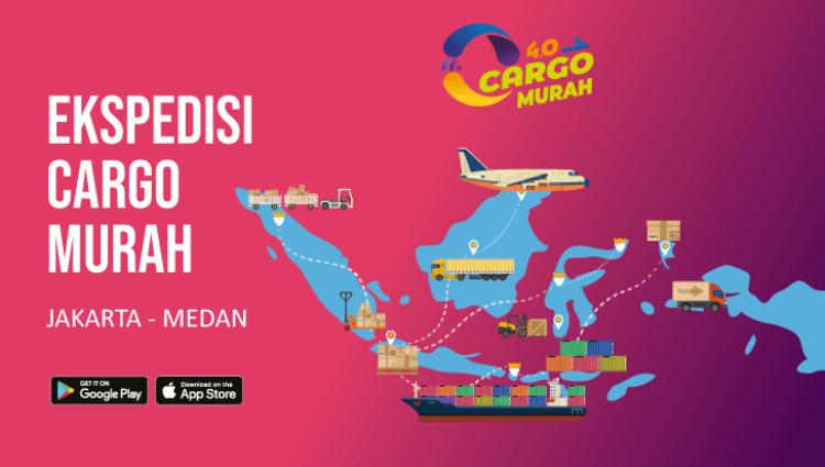 Jasa Ekspedisi Cargo Darat Jakarta Medan