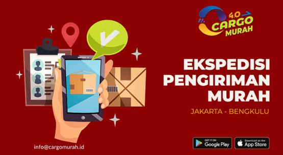 Jasa Ekspedisi Pengiriman Cargo Murah Jakarta Bengkulu