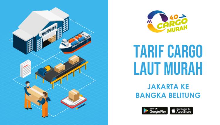 Ekspedisi Murah Via Jalur Laut Jakarta Bangka Belitung