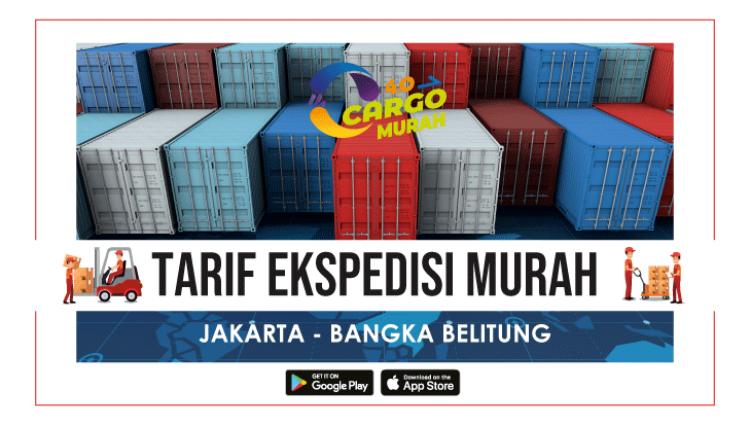 Jasa Kargo Jakarta Belitung