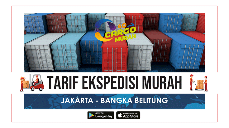 Jasa Cargo Murah Jakarta Belitung
