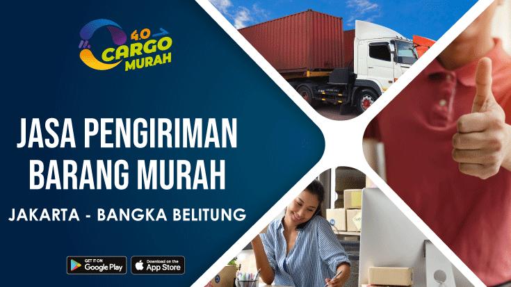 Jasa Cargo Via Laut Murah Jakarta Bangka Belitung