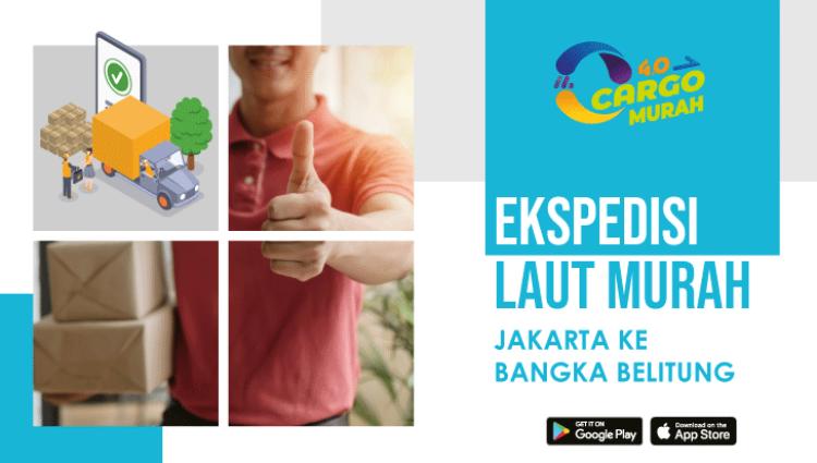 Jasa Ekspedisi Murah Jakarta Bangka Belitung