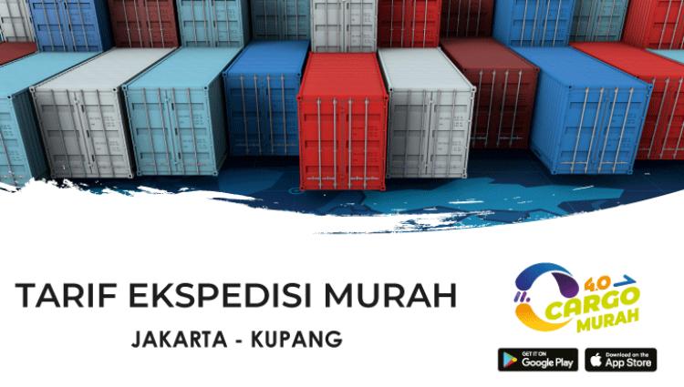 Jasa Kargo Jakarta Kupang