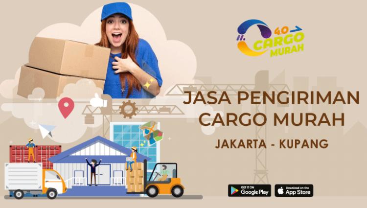 Cargo Murah Via Kapal Laut Jakarta Kupang
