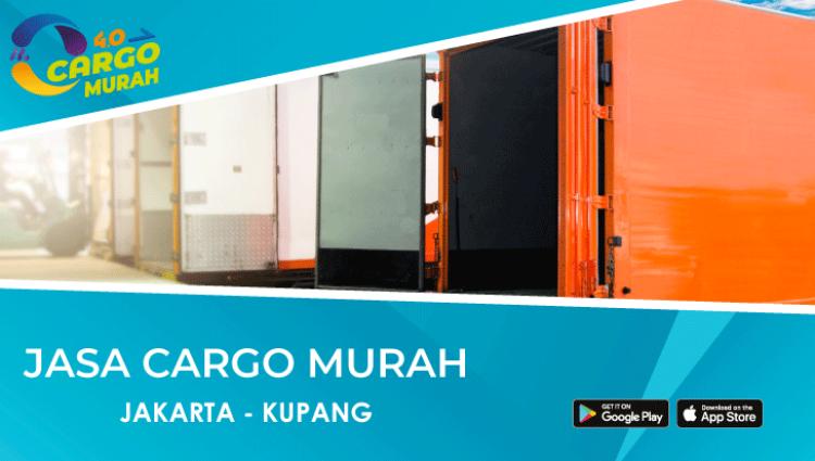 Jasa Ekspedisi Murah Via Cargo Laut Jakarta Kupang