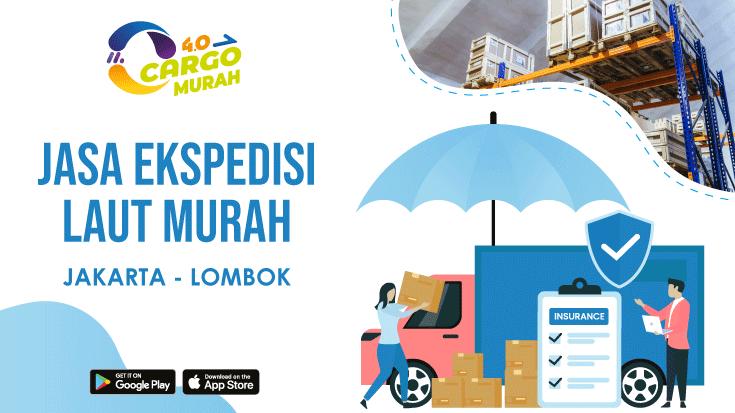 Jasa Cargo Kapal Laut Jakarta Lombok