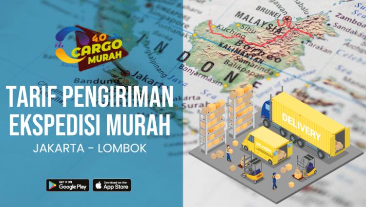 Jasa Pengiriman Murah Jakarta Lombok