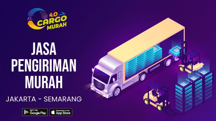 Jasa Ekspedisi Cargo Darat Jakarta Semarang